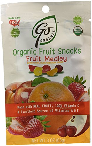 GoOrganic Candy  - Hard or Chews, Just Naturally Delicious! ad  - Fruit Snacks - Fruit medley