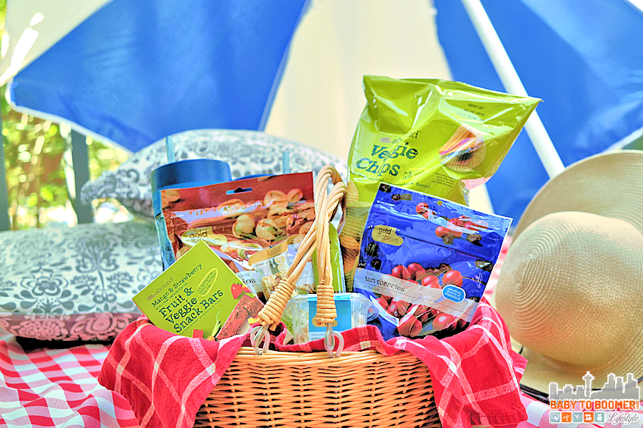 Picnic for Two: Connect and Enjoy Great Natural Snacks #CVSSpringSnacking