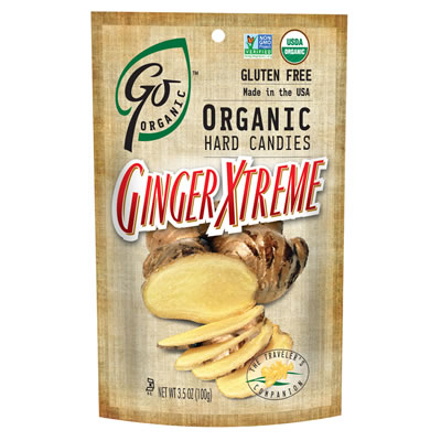 GoOrganic Ginger XTreme Candy - GoOrganic Candy  - Hard or Chews, Just Naturally Delicious! ad
