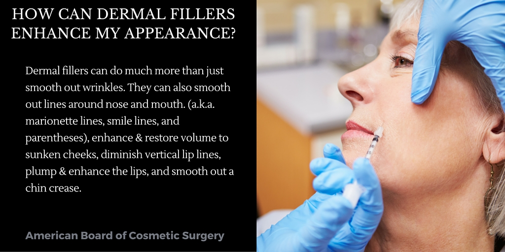 How Do Dermal Fillers Enhance My Appearance? ad
