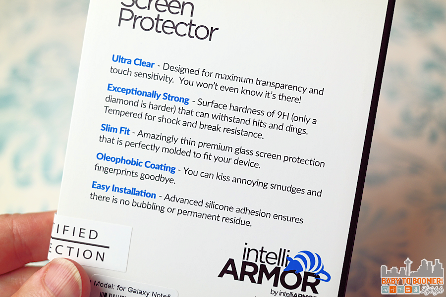 IntelliGlass Screen Shield Specifications Features #intelliGLASS @intelliarmor ad