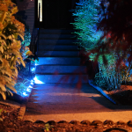 Update Your Landscaping in Five Minutes by Adding Light! 2016 #LIGHTIFY