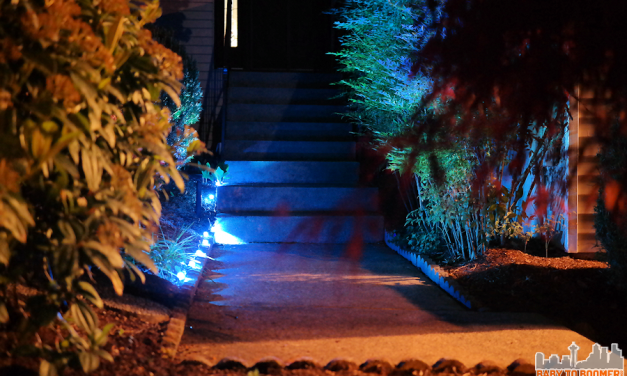Update Your Landscaping in Five Minutes by Adding Light!