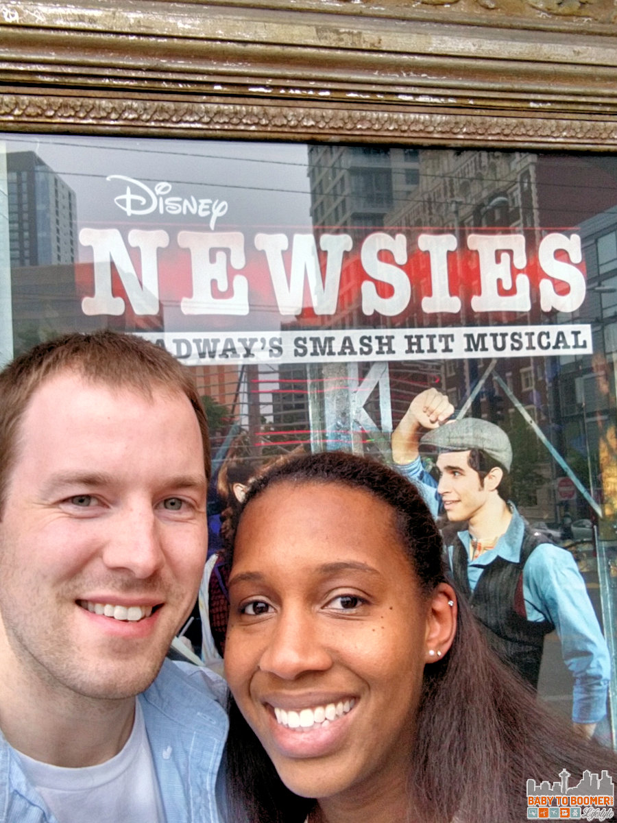 Newsies Seattle Paramount