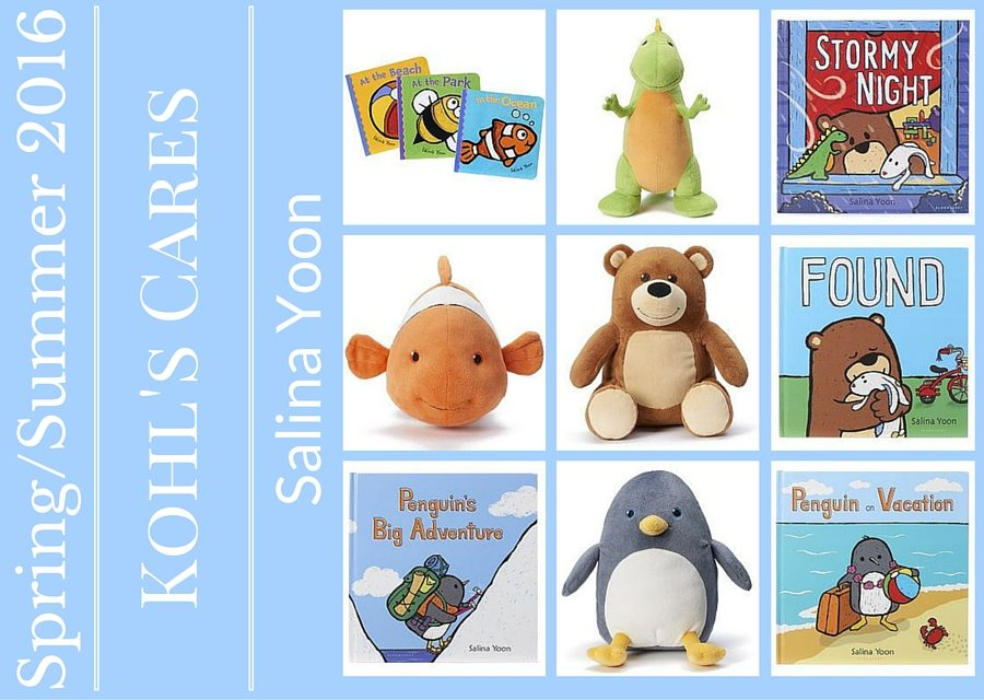 Kohl's Cares Spring 2016 Promotion – $5 Book & $5 Plush!