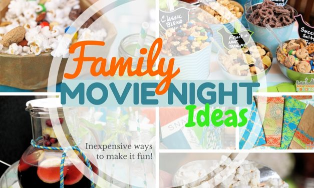 Family Movie Night: Inexpensive Ways to Make it Special #CVSSpringSnacking #CVS