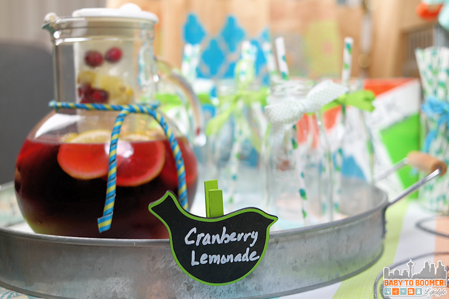 Homemade Sparkliing Cranberry Lemonade - #CVSSpringSnacking #CVS #ad