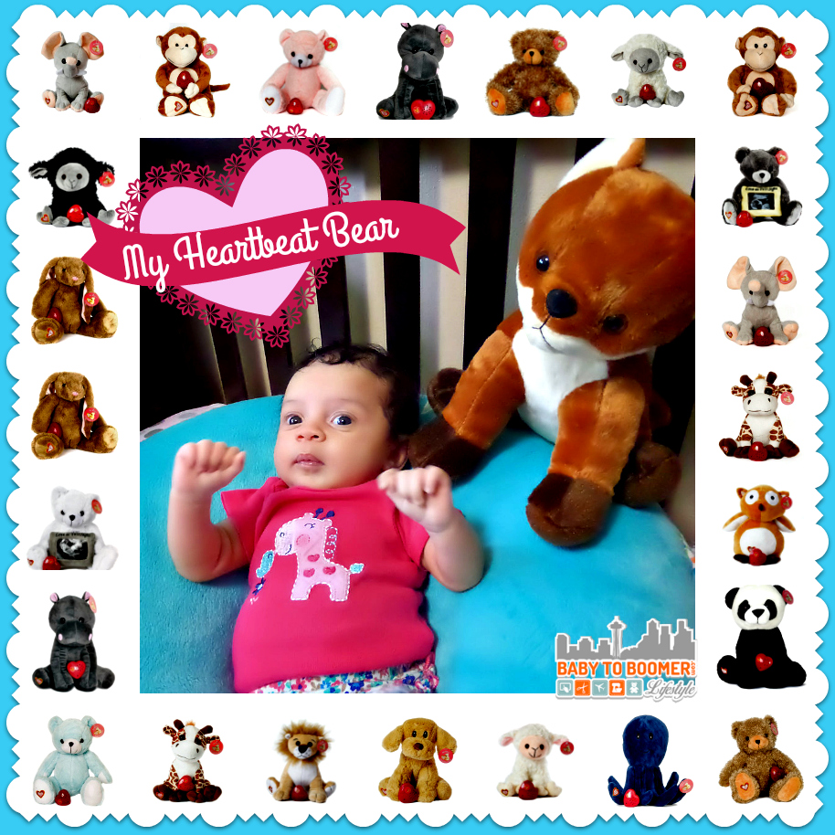 My Heartbeat Bear Animals - recordable hears keep baby's heartbeat safe or record a message for your child. So many options and extra recorders are available seperately so you can save those memories and make new ones! ad