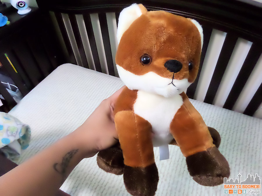 My Heartbeat Bear - Fox - record your baby's heartbeat during a sonogram or your own recorded message - ad
