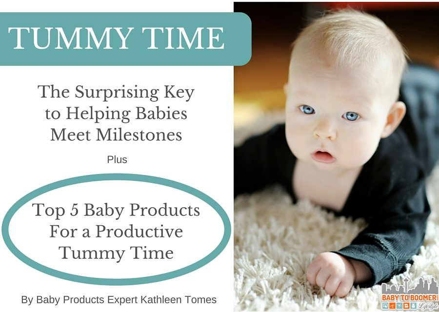 Tummy Time: Surprising Key to Helping Babies Meet Milestones