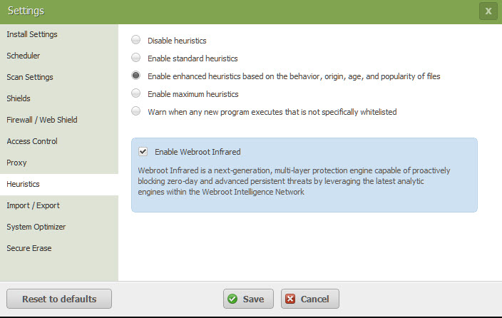 Webroot Infrared Heuristics - Cybersecurity: Here's How to Lock Hackers Out of Your Devices #SmarterCybersecurity @Webroot #ad