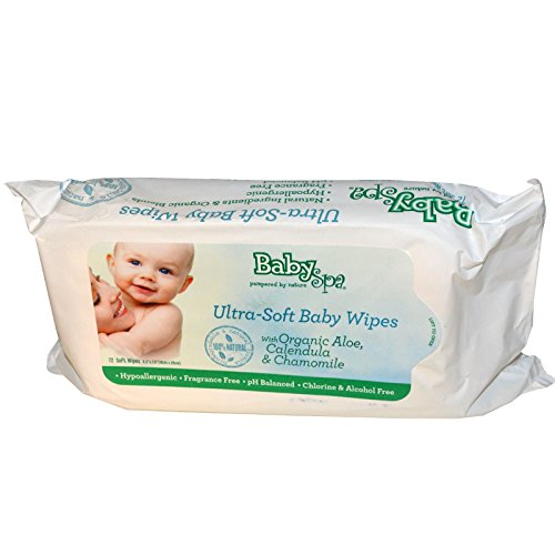 Natural Remedies For Cold and Flu Season - BabySpa Ultra-soft Baby Wipes - All Natural /organic - rated non-toxic by the EWG