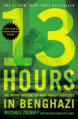 19 Book-to-Movie Adaptations to read this summer - 2016 13 Hours: The Secret Soldiers of Benghazi (Buy on Bluray or DVD) based on the book Thirteen Hours: A Firsthand Account Of What Really Happened In Benghazi by Mitchell Zuckoff