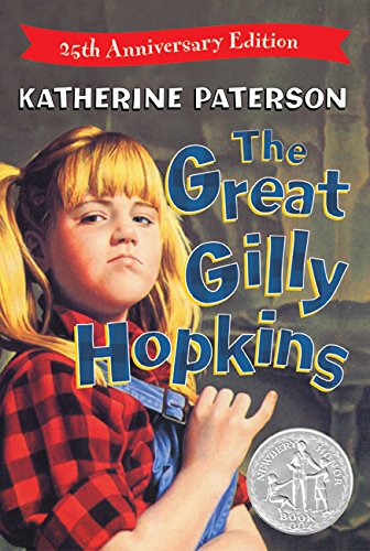 19 Book-to-Movie Adaptations to read this summer - 2016 - The Great Gilly Hopkins by Katherine Paterson