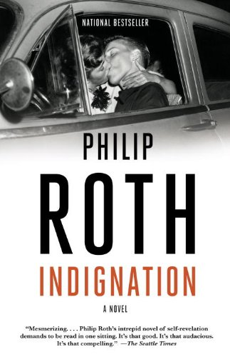 19 Book-to-Movie Adaptations to read this summer - 2016 - Indignation by Philip Roth