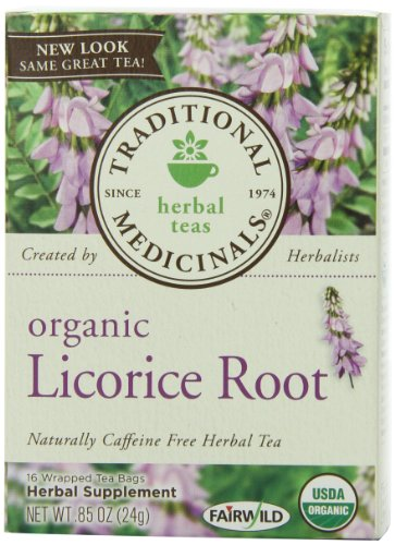 Natural Remedies For Cold and Flu Season - Organic Licorice Root Tea