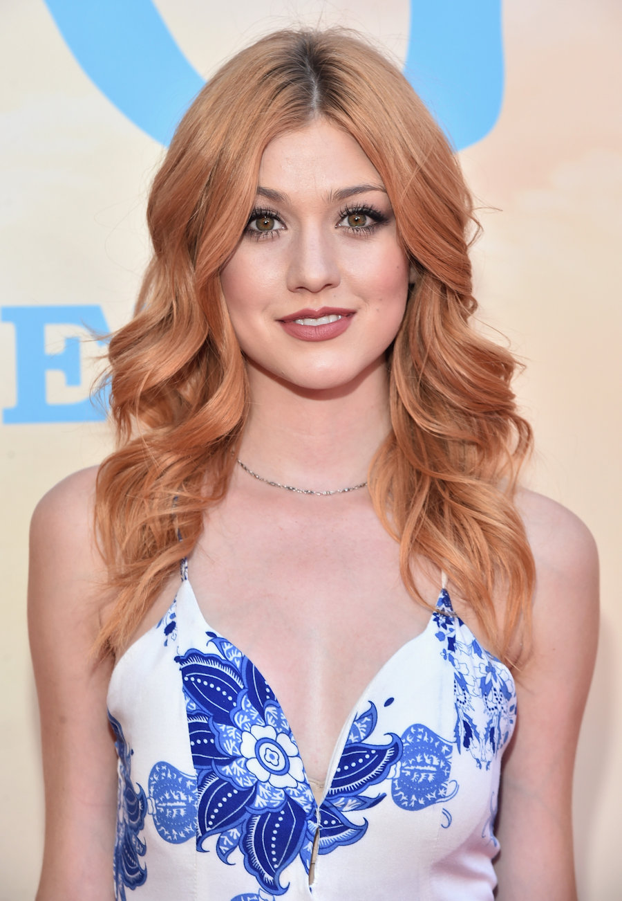 "Actress Katherine McNamara arrives on the red carpet for the US premiere of Disney's ""The BFG,"" directed and produced by Steven Spielberg. A giant sized crowd lined the streets of Hollywood Boulevard to see stars arrive at the El Capitan Theatre. ""The BFG"" opens in U.S. theaters on July 1, 2016, the year that marks the 100th anniversary of Dahl's birth, at the El Capitan Theatre on June 21, 2016 in Hollywood, California. (Photo by Alberto E. Rodriguez/Getty Images for Disney) #TheBFGEvent"