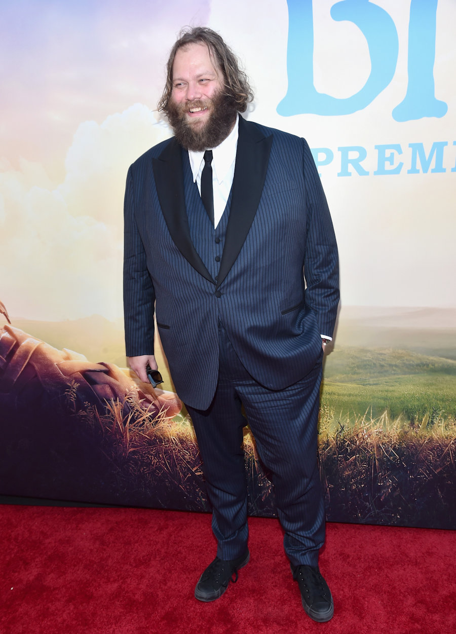 "HOLLYWOOD, CA - JUNE 21: Actor Olafur Darri Olafsson arrives on the red carpet for the US premiere of Disney's ""The BFG,"" directed and produced by Steven Spielberg. A giant sized crowd lined the streets of Hollywood Boulevard to see stars arrive at the El Capitan Theatre. ""The BFG"" opens in U.S. theaters on July 1, 2016, the year that marks the 100th anniversary of Dahl's birth, at the El Capitan Theatre on June 21, 2016 in Hollywood, California. (Photo by Alberto E. Rodriguez/Getty Images for Disney) *** Local Caption *** Olafur Darri Olafsson #TheBFGEvent"