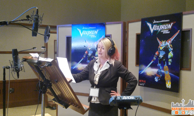 Voicing Voltron – My Chance in the Recording Booth #DreamWorks #Voltron