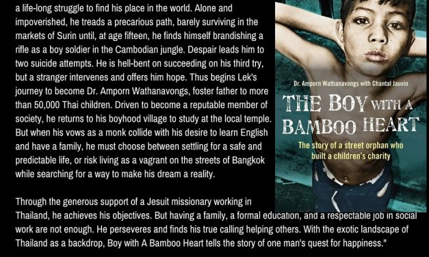 The Boy with a Bamboo Heart: The Story of a Street Orphan Who Built a Children's Charity