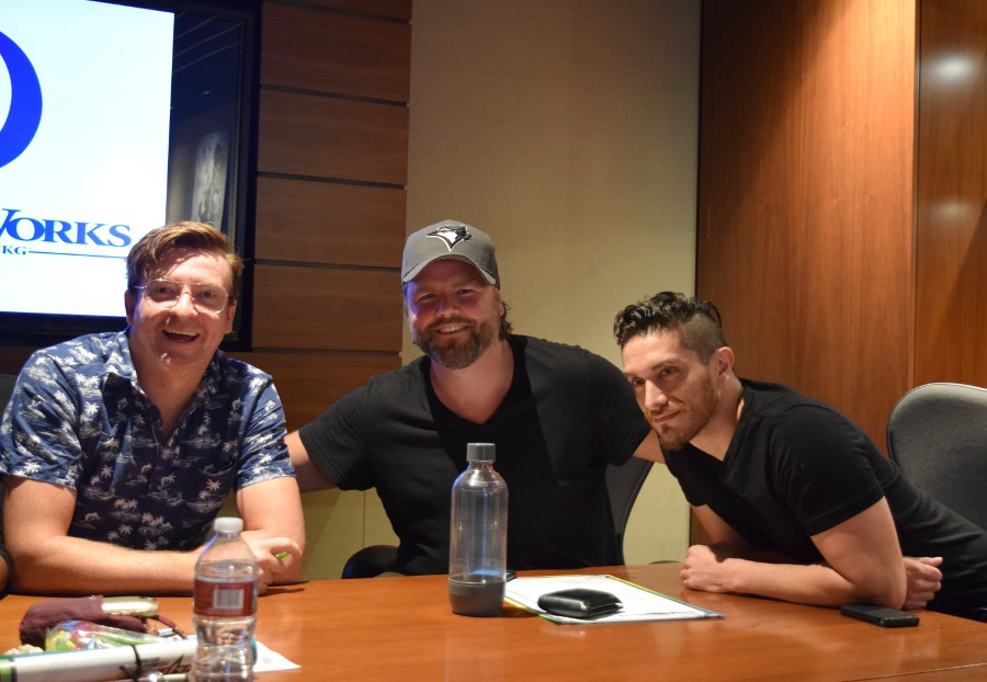 H aving Fun With The Cast of Voltron #Voltron #DreamWorksRhys Darby, Tyler Labine, and Josh Keaton - Photo Credit: Joyce Duboise