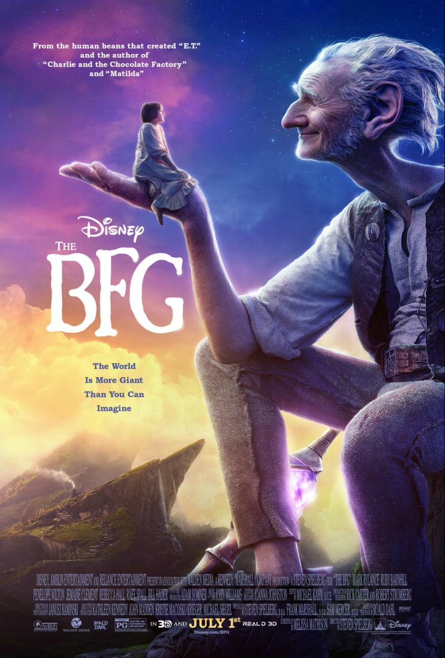 Disney's The BFD Movie Poster - #TheBFGEvent ad