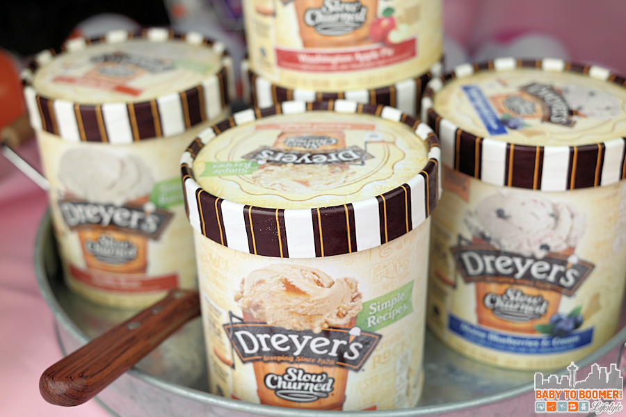 Dreyer's Ice Cream Party Ideas Ice Cream Social Printable Kit #SweeterTogether @dreyersicecream