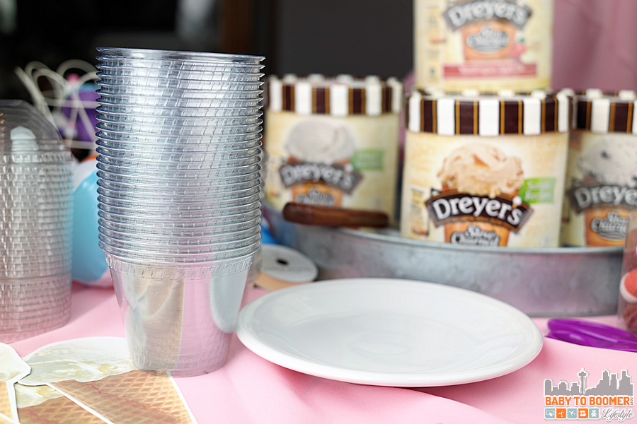 Dreyer's Light Ice Cream - Free Party Printables Ice Cream Social Printable Kit #SweeterTogether @dreyersicecream
