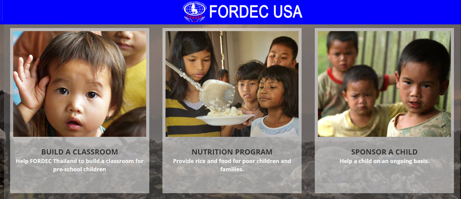 FORDEC USA - How You Can Help