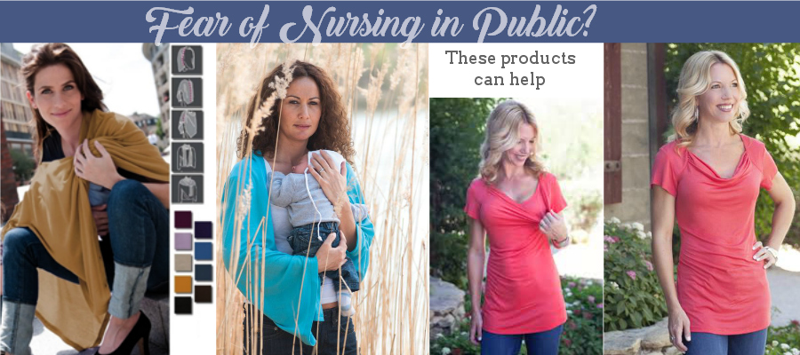Fear of Nursing in Public? - These nursing tops and cover-up can help. ad