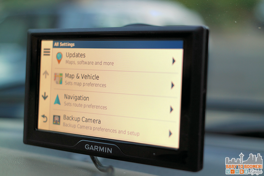 Garmin 50 - Set Up Screen #GarminBabyCam #IC #ad