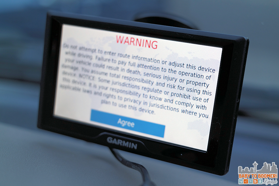 Garmin 50 - Warning #GarminBabyCam #IC #ad
