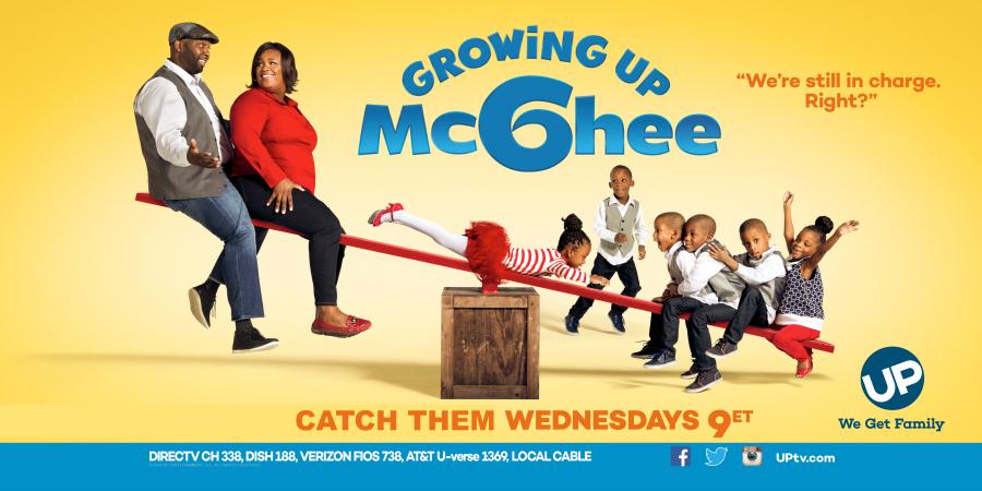 Growing Up McGhee on UPtv Wednesdays at 9pm - #GrowingUpMcGhee AD