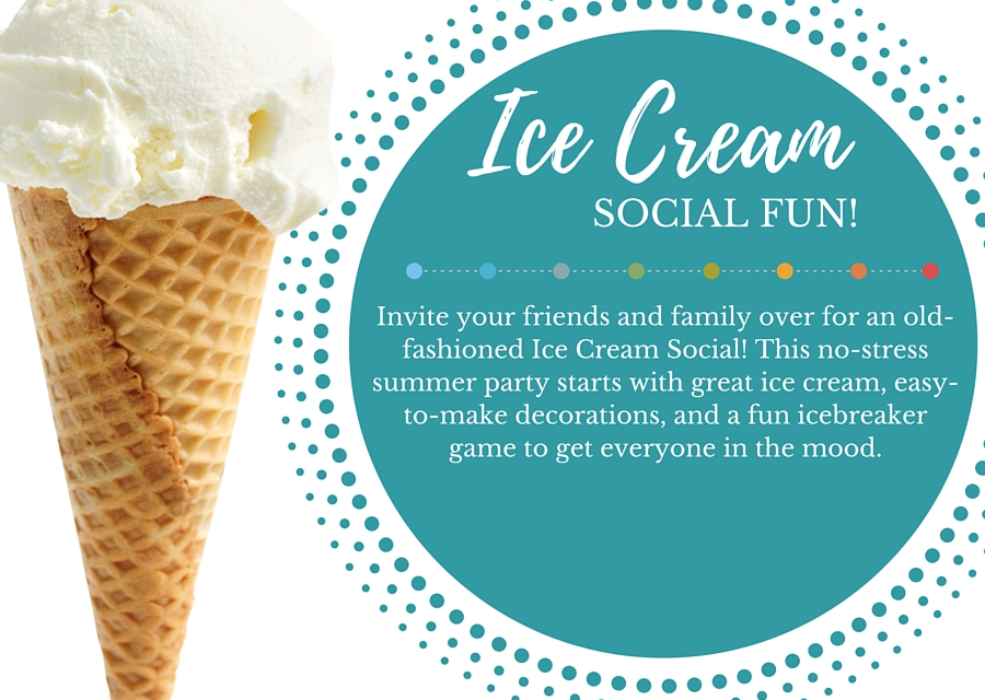 Ice Cream Social Printable Kit