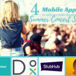 4 Mobile Apps for the Summer Concert Season #ATTSeattle