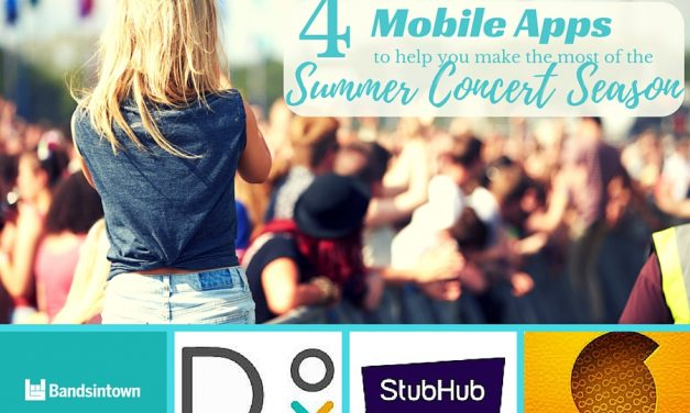 4 Mobile Apps for the Summer Concert Season #ATTSeattle