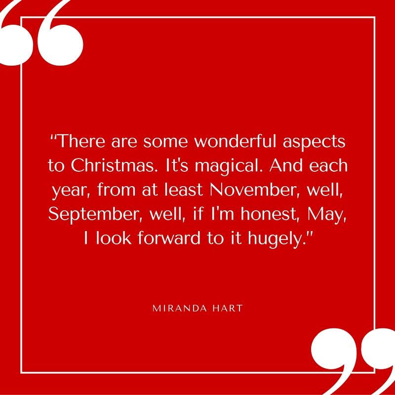 Quote - Miranda Hart -Christmas