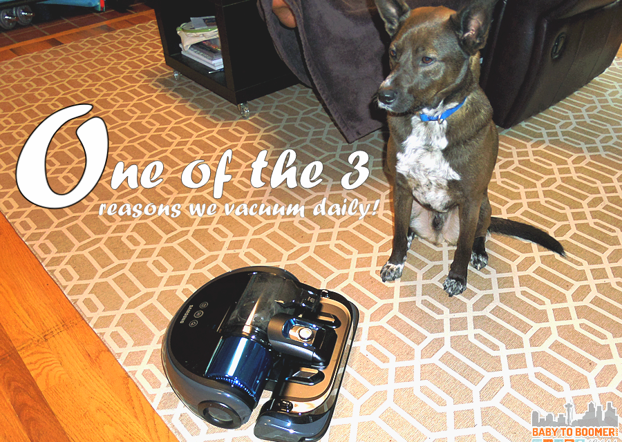 Samsung POWERbot Wi-Fi Robot Vacuum Vs Our Pets
