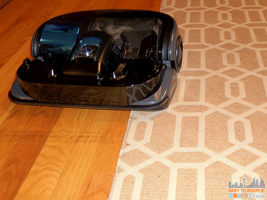 Samsung POWERbot Wifi Robot Vacuum - Dual Surfaces are not problem! @BestBuy @Samsungtweets #bbysamsung ad