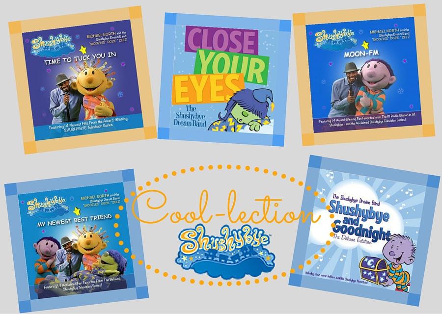 Shushybye Cool-lection CD Collection ad