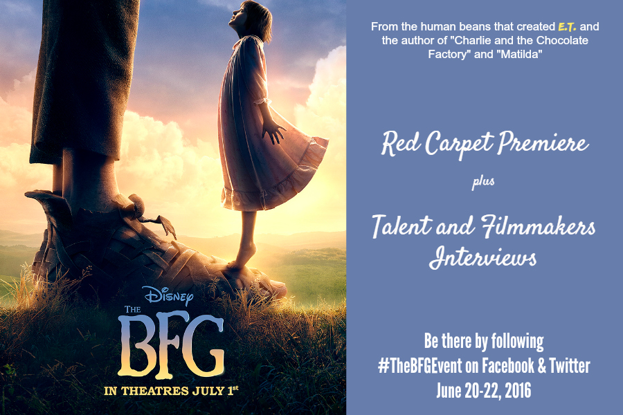 THE BFG – Disney Red Carpet Movie Premiere Coverage 6/20-22 #TheBFGEvent