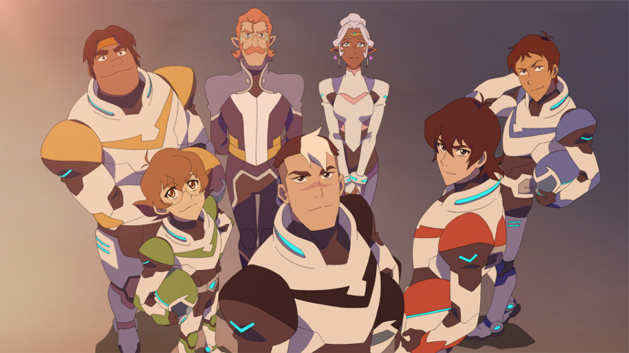 Having Fun With The Cast of Voltron #Voltron #DreamWorks