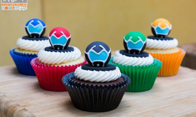 Voltron Cupcake Tutorial, Coloring Pages, and My Lunch at #DreamWorks #Voltron