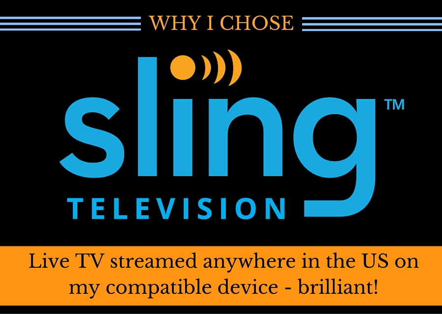 Why I Chose Sling TV - #TakeBackTV #ad