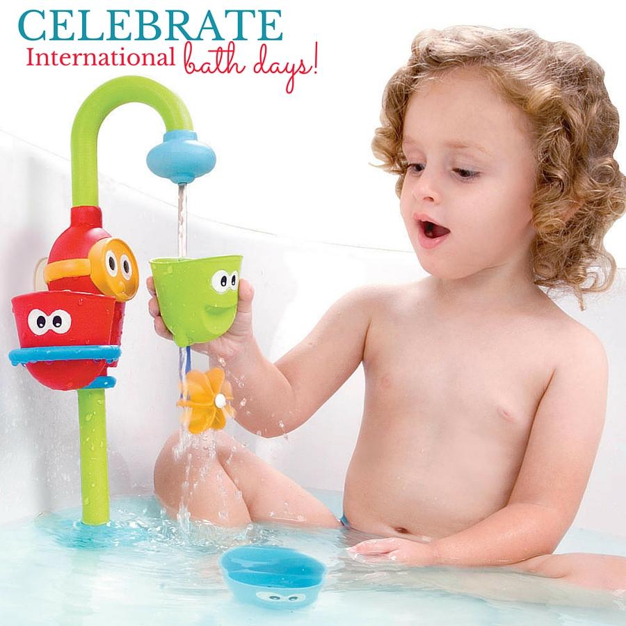 Yookidoo Flow 'N' Fill Spout #InternationalBathDay ad