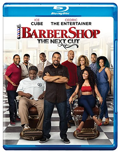 New July 2016 DVD & Blu-ray Releases: Movies & TV Rated G |PG|PG-13 - Barber Shop The Next Cut