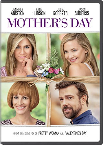 New August 2016 DVD & Blu-Ray Releases: Family-friendly Rated G, PG & PG-13 MOTHER'S DAY - Rated PG-13 Julia Roberts, Jennifer Aniston, Kate Hudson, Jason Sudeikis