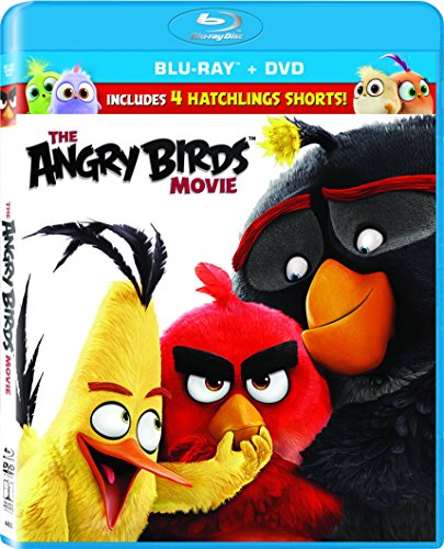 New August 2016 DVD & Blu-Ray Releases: Family-friendly Rated G, PG & PG-13 The Angry Birds Movie- Rated PG Starring Peter Dinklage, Jason Sudeikis, Maya Rudolph, Josh Gad, Danny McBride, Kate McKinnon, Bill Hader, Jillian bell, Ike Barinholtz, and Keegan-Michael Key