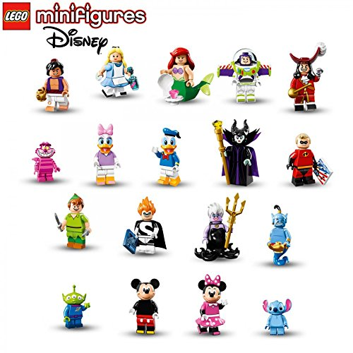 Lego Disney Characters Minifigures Collection - Complete Set
