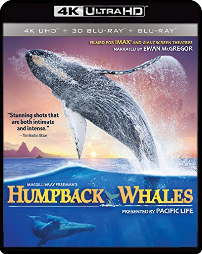 New August 2016 DVD & Blu-Ray Releases: Family-friendly Rated G, PG & PG-13 IMAX: Humpback Whales Blu-ray 4K UHD / 3-D Bluray/ Digital Copy - Rated NR